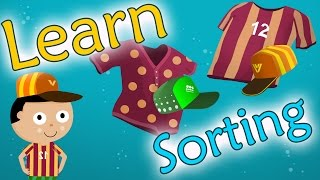 Learn sorting and matching for preschool and kindergarten