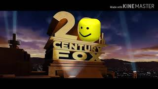 20th Century Fox Intro but replaced with the oof sound
