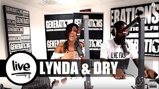 Lynda ft Dry - A Ma Place (Live des studios de Generations)