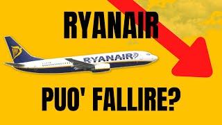 Ryanair è a rischio fallimento? Sbirciamo nei bilanci