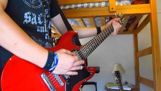 Adrenaline   Nine Lashes feat Trevor of TFK   Guitar Cover   HD!