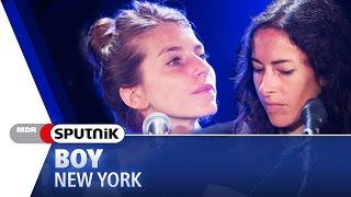 BOY - New York (live & Akustik) - SPUTNIK Videosession