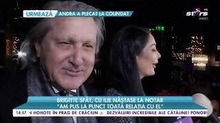"""Brigitte Sfăt, cu Ilie Năstase la notar: """"Eu am fost în fața notarului cu el"""""""