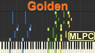 Brandon Beal feat. Lukas Graham - Golden I Piano Tutorial by MLPC