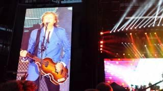 Paul McCartney - Target Field 08.02.2014 - Eight Days a Week