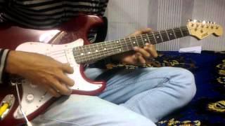 main tenu samjhava ki solo guitar