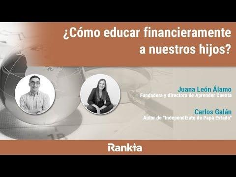 Carlos Galán y Juana León Álamo imparten un curso online sobre cómo educar financieramente a tus hijos.
