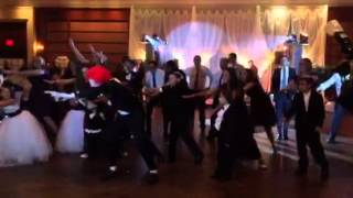 Kira and Andrew's Wedding Flash Mob (Cheerleader OMI)