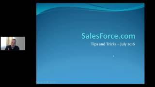 Salesforce.com Tips and Tricks -  Sept 2016
