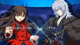 Melty Blood: Type Lumina Gets New Gameplay Trailer Showing a Miyako vs Vlov Match