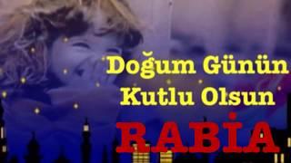 RABİA İyi ki Doğdun :)  3. VERSİYON Komik Doğum günü Mesajı *happy birthday Rabia* Made in Turkey :)