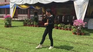 Aniq rehearsal majlis penutup merentas desa kebangsaan 2018