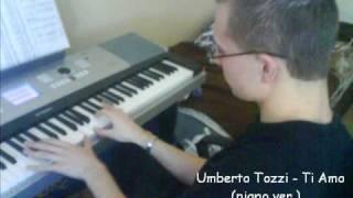 Umberto Tozzi - Ti Amo (piano ver.) - Jan Gajdosik