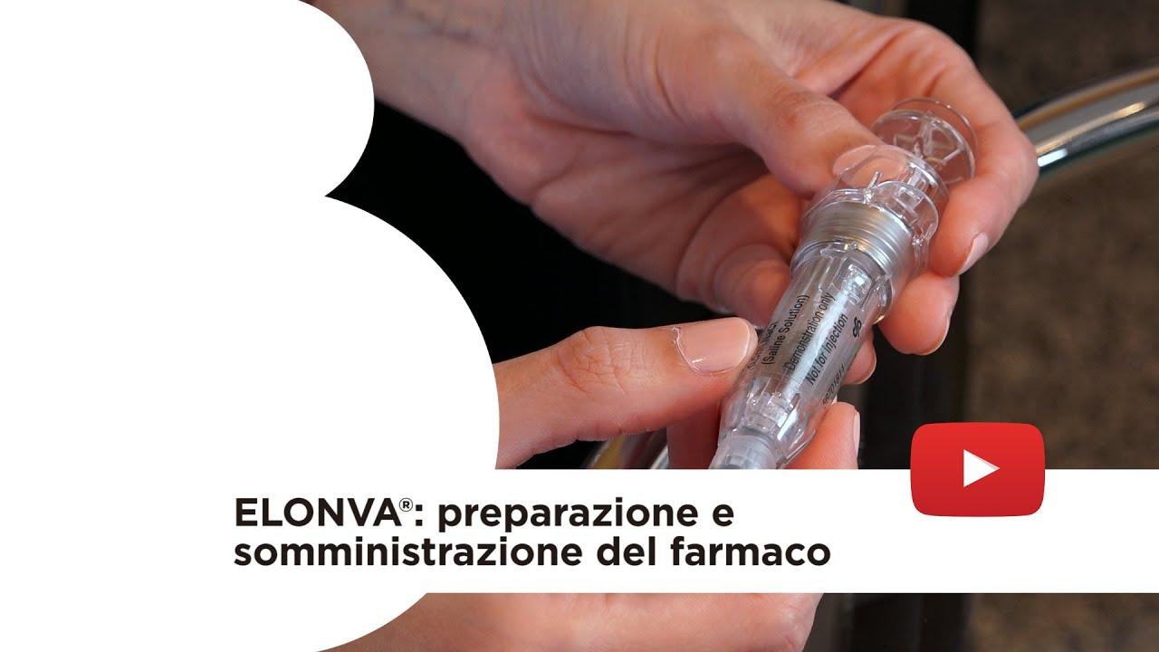 Elonva®: preparazione e somministrazione del farmaco