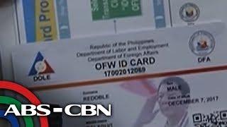 Bandila: Bagong OFW ID, ipinamahagi na