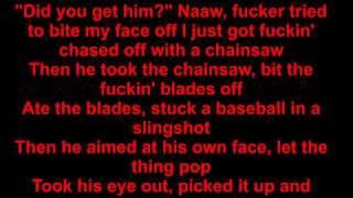 eminem insane lyrics video