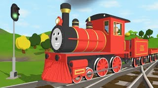 The Alphabet Adventure With Alice and Shawn the Train - FULL CARTOON - (Learn letters and words) width=