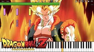 Gogeta's Theme - Dragon Ball Z OST (Piano Tutorial) [Synthesia]