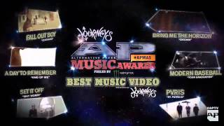APMAS Awards 2015 - Bring Me The Horizon - Drown Best Music Video!