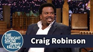 Craig Robinson Struggled with Beads During Mardi Gras