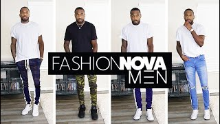 FASHION NOVA MEN'S CLOTHING TRY-ON HAUL | I AM RIO P.