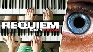 Requiem For A Dream Theme by Clint Mansell - Four Hands Duet - Piano Cover