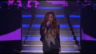 """Demi Lovato """"Give Your Heart A Break"""" on American Idol 2012"""