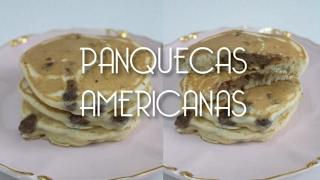 PANQUECAS AMERICANAS COM CHOCOLATE| RECEITA MINUTO | Bem Vindos à Cozinha | Receita 69