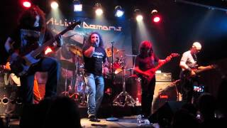 Attick Demons - The Flame of Eternal Knowledge - Live in Side B - Portugal 2013