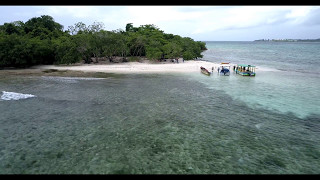 Jamaica Negril Booby Cay island may 2017 video with Drone