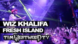 Wiz Khalifa Black & Yellow live at Fresh Island Festival - Westwood