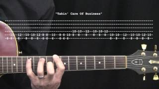 """Takin' Care Of Business"" by Bachman-Turner Overdrive: 365 Riffs For Beginning Guitar !!"