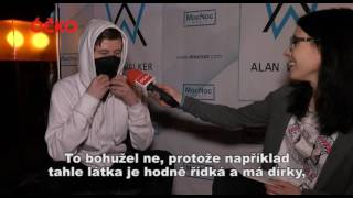 ALAN WALKER V PRAZE! MRKNI NA ÓČKO ROZHOVOR! // INTERVIEW WITH ALAN WALKER!