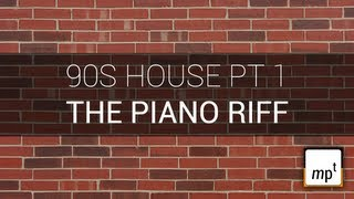 Producing a 90s House Track - Part One - M1 Piano Riff