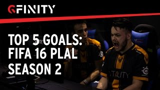 TOP 5 GOALS: Daxe, Gorilla, SFC Harry, SFC Jack (FIFA 16 PLAL S2)