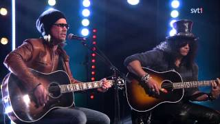 Slash feat. Myles Kennedy - Bent To Fly (live on Skavlan 2014.11.07)
