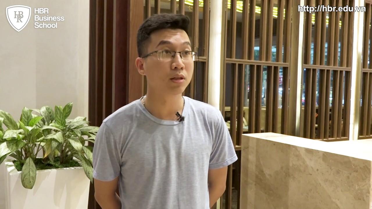 Cảm nhận học viên trường doanh nhân HBR - Anh Nguyễn Nhật Nam Giám đốc Chi Nhánh - Neviphar