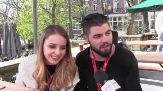 ESCKAZ in Amsterdam: Update with Ilinca & Alex Florea (Romania) at Eurovision In Concert