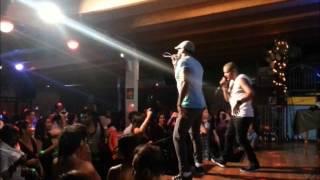 YULIEN OVIEDO Y BLAD MC en vivo @ Mulata Bari 2013