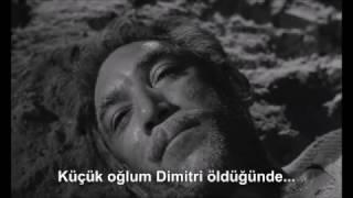 A scene from Zorba (1964). [Zorba (1964) filminden bir sahne.]