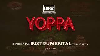 """Chris Brown - """"Yoppa"""" (Instrumental) ft. Trippie Redd (Heartbreak On A Full Moon)"""