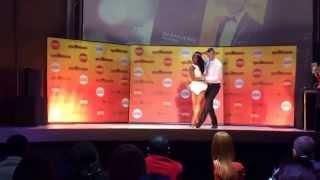 Africadancar 2015 Final - Kizomba improvisation - Pawel & Marly