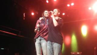 Cimorelli live in Stockholm - Cold Water/Let Me Love You