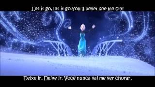 Let it go ( frozen) Letra+Tradução