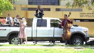 Postmodern Jukebox Plays a Flash Mob Vintage Truck Concert