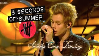 5 Seconds of Summer (5SOS) performing Amnesia on Strictly Come Dancing (HD)