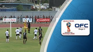 OFC Stage 3 2018 FIFA World Cup Qualifier | Fiji v New Zealand Highlights