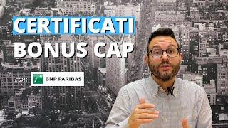 Certificati Bonus Cap: cosa sono e come funzionano