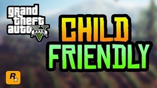 GTA 5 Child Friendly Edition Released! (Family Friendly GTA 5)