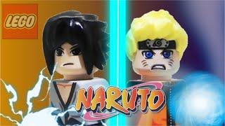 LEGO // NARUTO vs SASUKE  ( SHIPUDEN ) - FINAL FIGHT !!! Vostfr & Vosteng